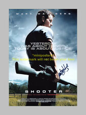 "SHOOTER PP SIGNED 12""X8"" POSTER  MARK WAHLBERG"