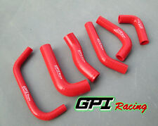 FOR Honda XR650R XR650 2000-2009 02 03 04 05 silicone RADIATOR HOSE  RED