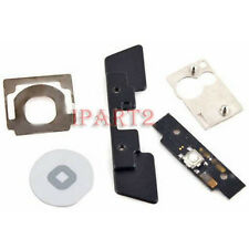 Home Button Click Inner 5 Set Replacement Part Kit for Apple iPad 2 & 3 (White)