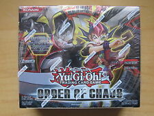Yu-Gi-Oh Order of Chaos booster box