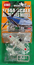 Flight of 4 Bandai Wing Club L2 Japanese A6M3 Zero's New MIB 1:144 WW2 Aircraft