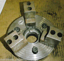 "6"" Diameter GAMET Chuck CNC Lathe 3 Jaw Power 160-3-PR _ 1603PR"