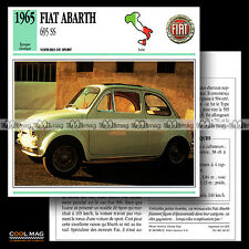 #060.02 FIAT ABARTH 695 SS (1965) - Fiche Auto Classic Car card