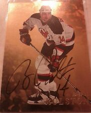 1998-99 BAP Be A Player GOLD Autograph  Brian Rolston  Auto Card 230