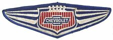 Hot Rod Patch Vtg Chevy back size Chevrolet Wings Classic Mechanic Drag Race