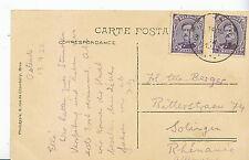 Genealogy Postcard - Family History - Berger - Solinger - Rhenanie   A1428