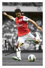 MIKEL ARTETA - ARSENAL AUTOGRAPHED SIGNED A4 PP POSTER PHOTO