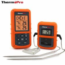 Cooking Meat Thermometer Probe Timer Food Oven BBQ Digital Read Temerature