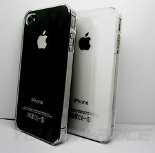 0.2MM Thin Clear Transparent Crystal Hard Case Cover FILM for iPhone 4 4S 4G New
