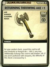 Pathfinder Adventure Card Game - 1x Returning Throwing Axe +1 - Rise of the