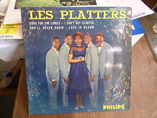 les platters  : song for the lonely - you'll never know - philips 434.505