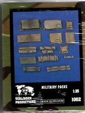 VERLINDEN 1002 - MILITAIRY PACK - 1/35 RESIN KIT NUOVO