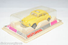 MAJORETTE 203 202 VW VOLKSWAGEN BEETLE KAFER COCCINELLE YELLOW MINT BOXED RARE