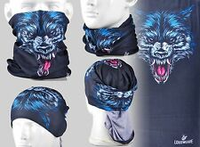 Wolf Coyote Multi-function Tubu Scarf Bandana Cycling Bicycle Face Mask AA194