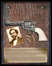 Colt Single Action Army Pistol VERY COOL Poster PHOTO PRINT History NRA Arms