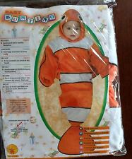 Goldfish Infant Baby Bunting Costume 0-9 months Clown Fish