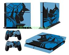 Fullmetal Alchemist Anime Alphonse Elric Skin Sticker Decal Protector for PS4