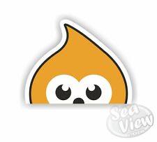 Peeping Zingy Car Van Stickers Decal Funny Sticker