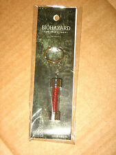 Resident EVIL virus KEYCHAIN/PORTACHIAVI (Red) Capcom New