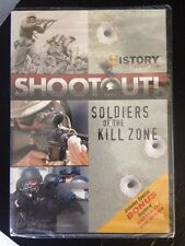 Shootout! Soldiers Of The Killzone, History Channel Club DVD, New