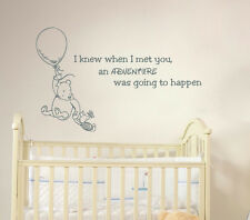Winnie the Pooh Quote Wall Decal Vinyl Sticker Decals Quotes Nursery Art X4