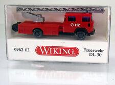 Wiking 096203 Magirus Feuerwehr Drehleiter DL 30 -  Scale 1/160 N