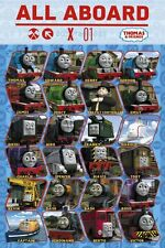 """THOMAS AND FRIENDS - TV POSTER / PRINT (CHARACTER COLLAGE) (SIZE: 24"""" X 36"""")"""