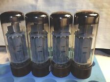 (4 ) tube Early Four Heavy Brown Base EL34 DD Getter Ring AMPEREX etc