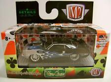 1971 '71 PLYMOUTH CUDA 383 FLAMES WILD CARDS SERIES M2 MACHINES DIECAST