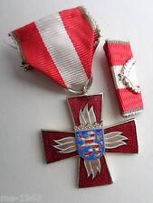 Feuerwehr HESSEN    Ehrenzeichen silber