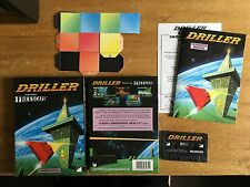 COMMODORE 64 (C64) - DRILLER - BIG BOX GAME