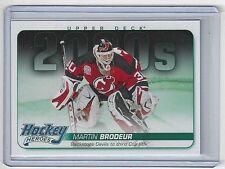 2014-15 MARTIN BRODEUR UPPER DECK HOCKEY HEROES #HH-70