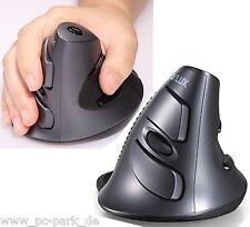 Laser Delux M618GL Wireless Ergonomisch Vertikal Maus für Computer Notebook/PC