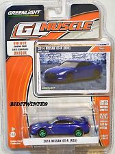 GREENLIGHT 2017 GLMUSCLE SERIES 17 2014 NISSAN GT-R (R35) GREEN MACHINE