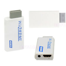 Wii To HDMI 1080P Full HD Upscaling Converter Adapter With 3.5 mm Audio Output