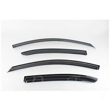 New Rain Guards Window Smoke Black Vent Visors for Hyundai Sonata 2006 - 2010