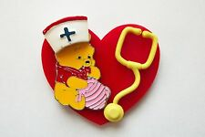 HONEY HONEY POOH RN NURSE MEDICAL TEACHER STUDENT VETERINARIAN ID BADGE HOLDER