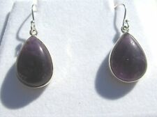 Amethyst Ohrhänger-Amethyst Earrings 925 Silber E7207