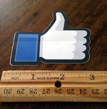 """Facebook Thumbs Up """"Like"""" Stickers Wholesale Bulk 250 Pack"""
