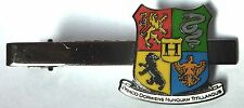HOGWARTS Coat of Arms Crest Shield Harry Potter movie series Book Tie Bar Clip
