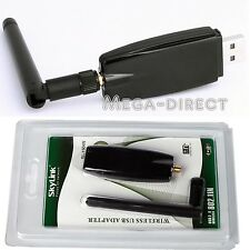 #1045 USB Wireless LAN Adapter WIFI 802.11 B G N Antenna 300M
