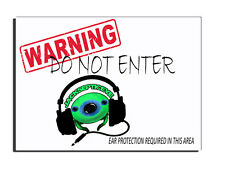 WARNING DO NOT ENTER JACKSEPTICEYE HEADSET DOOR SIGN FREE UK DELIVERY XMAS GIFT