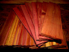 "36 THIN KILN DRIED EASTERN RED CEDAR 12"" X 3"" X 1/4"" LUMBER WOOD SCROLL SAW"