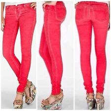 women's Miss Me cherry coated washed stretch skinny jeans 26 in.
