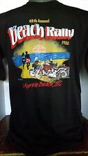VINTAGE HARLEY DAVIDSON DEALER'S ASS 48th ANNUAL MYRTLE BEACH RALLY 1988 T-SHIRT