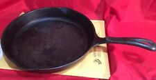 "Vintage Wagner's 1891 Original 10 1/2"" Cast Iron Skillet 2 Spout USA"