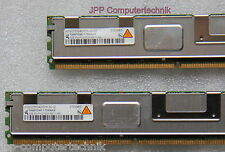 8GB 2x 4GB RAM Dell PowerEdge 2950 667Mhz FB DIMM DDR2 Speicher PC2-5300F SERVER