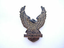 SALE RARE VINTAGE HARLEY DAVIDSON EAGLE USA LOGO SIGN MOTORCYCLES BIKE PIN BADGE