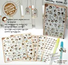 Cooky's Hello Day Stickers For Scrapbooking Diary Album Decoration - 5 Sheets