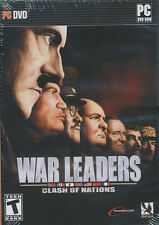 WAR LEADERS Clash of Nations - US Version - WW2 Global RTS Strategy PC Game NEW!